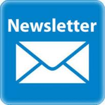 Image of an envelope for a newsletter
