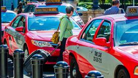 Image of DC taxicabs